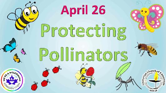 april 26 protecting pollinators